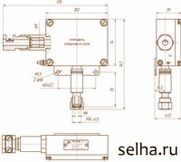 Схема электрическая соединений реле давления РК-303Д.